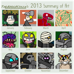 2013 Art Sumary by TheArgoNinja