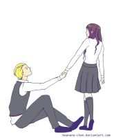 Dramione_take my hand by bonana-chan