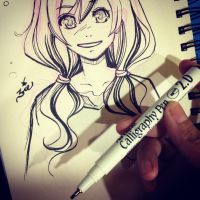Calligraphy Pen Test by zienta