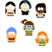 gopher girls south park style by kenzedie