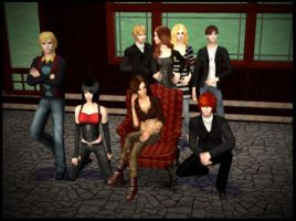 Cullen family_with The Sims 2_ by Kyaelys