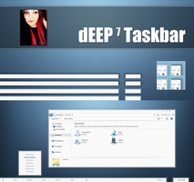 The Original dEEP 7 Taskbar by bubble-qumm