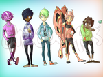 Cool Kids Adopts [OPEN 1 LEFT] by Chocodopts