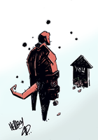 HELLBOY_AND_THE_GRAVE by eventsandbangREVIEW