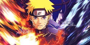 Smudge Duo Naruto and Sasuke by TaKeShi259