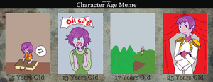 Age meme by PrinceScholar