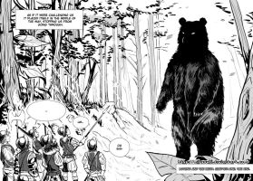 Hetalia doujinshi Lovino and the Bear 14 by mitssuki