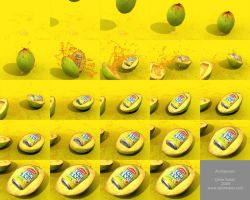Lipton Ice Tea in 3D - Frames by cetintuker