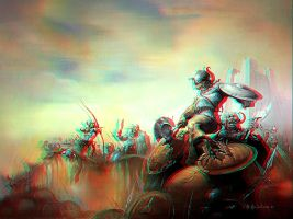 Field of Fury Anaglyph by Geosammy