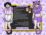 TMM OC: Lilly Kwan/Mew Licorice profile by DearyEm