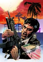 Scarface Color by nelsoncosentino