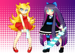 Panty and Stocking by Bunnyloz