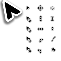 Entis Cursors -- with NO TILT by BriAnnM