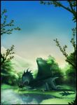 Silent Green World by Black-Wing24