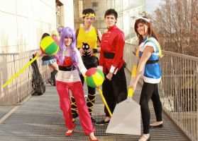 Ranma 1-2 Cosplay Group by Tanpopo89