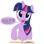Twilight Sparkle the Lecturer by DiegoTan