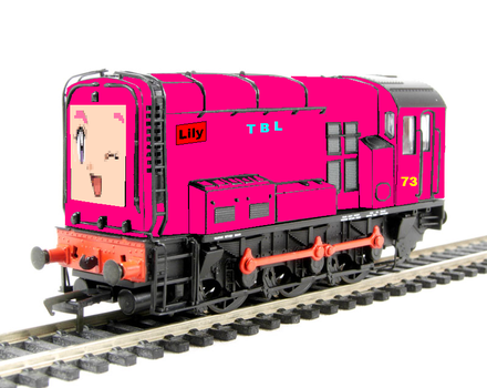 Lily The Pink Diesel No.73 by grantgman