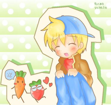 mark-carrot-strawberry by Punko-Chang