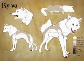 Ky'va Reference by SteelFangs