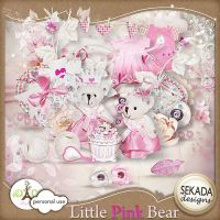 [Share Scrapbooking #5] Little Pink Bear by hoshi-langefia
