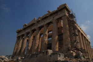 Grandeur of Parthenon by Mcnicky