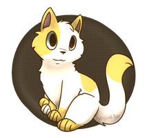 Cake The Cat by cedarwaxwing