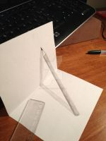 Anamorphic Pencil by ManciniLand