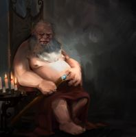 Dwarf king thing, I don't even by JordyLakiere