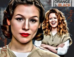 OITNB Nicky and Morello by GibsonLost