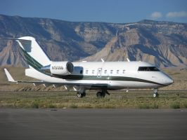2000 Challenger 604 N150BB by Qphacs