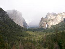 Yosemite in spring by cartooner123