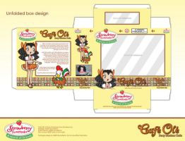 Cafe Ole - Unfolded package by bunnyfriend