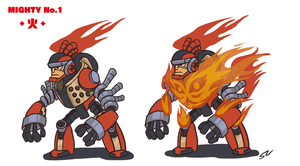 Mighty No. 1 Redesign by Smearg