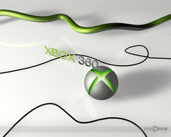 XBOX 360 wallpaper by gigge