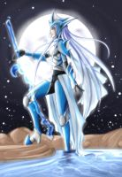 Warrior of Water by Uty-Bacalaito