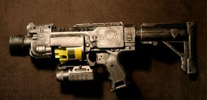 Diesel Punk NERF Barricade by JohnsonArms