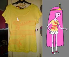 Princess Bubblegum Shirt by delicioustrifle