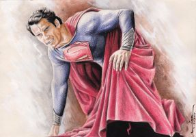 MAN OF STEEL by Ianrialdi
