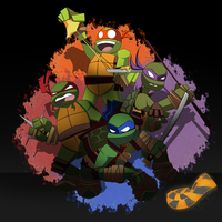 TMNT by TheOctoberScarf