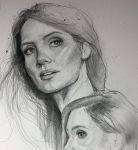 Jessica Chastain by MaryRiotJane