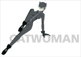 Catwoman...in gray by lsyw