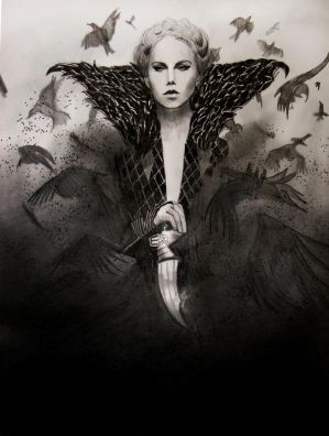Snow White and the Huntsman - Queen Ravenna by PolishPsycho
