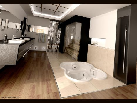 Bathroom 1 by gravier25