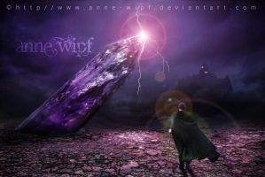 The Land of the Purple Crystal by annewipf