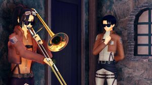 When Erwin isn't home by Czerry