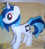 Vinyl Scratch / DJ Pon3 (Ebay Commission) #4 by SiamchuchusPlushies