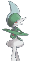 Erureido | Gallade Commission II by AutobotTesla