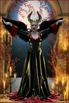 Evil Queen - Halloween 2014 by akulla3D