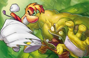 Rayman Legends by Fpeniche