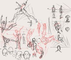 Lesson explanation sketches by marvelmania